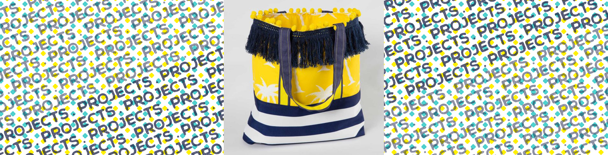janome sewing project beach tote