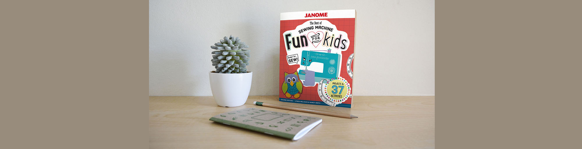 Janome Fun For Kids Sewing Book